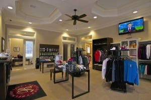 The pro shop at the BLP Golf Clubhouse has all your needs to go out and hit 18