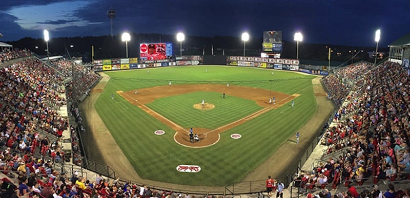 Carolina Mudcats Baseball