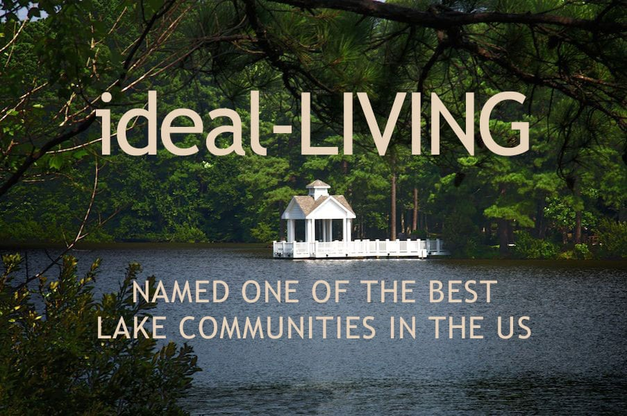 NAMED ONE OF THE BEST LAKE COMMUNITIES IN THE US