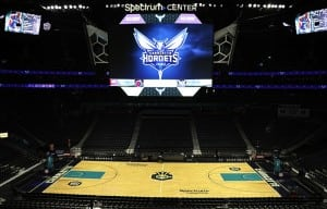 The Hornets are set to unveil the awesome new scoreboard at the Spectrum Center