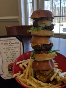 gourmet-burger-menu-Belmont Lake Preserve